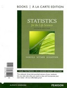 Statistics for the Life Sciences, Books a la Carte edition 4th edition 9780321771766 0321771761