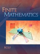 Finite Mathematics 5th edition 9780030334467 0030334462