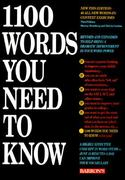 1100 Words You Need to Know 3rd edition 9780812016208 0812016203