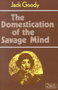 The Domestication of the Savage Mind 0 9780521292429 0521292425