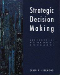 Strategic Decision Making 1st edition 9780534516925 0534516920
