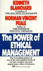 The Power of Ethical Management 0 9780449217658 0449217655