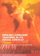 English Language Teaching in Its Social Context 1st edition 9780415241229 0415241227