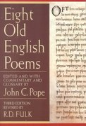 Eight Old English Poems 3rd edition 9780393976052 039397605X
