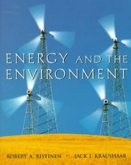 Energy and the Environment 1st edition 9780471172482 0471172480