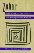 Zohar: The Book of Splendor 1st Edition 9780805210347 0805210342