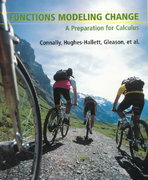 Functions Modeling Change 2nd edition 9780471170846 0471170844