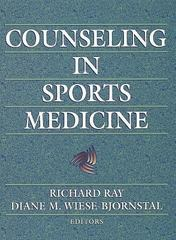 Counseling in Sports Medicine 0 9780880115278 0880115270