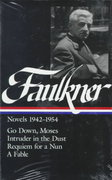 William Faulkner Novels 1942-54 0 9780940450851 0940450852