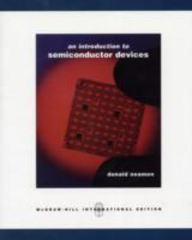 An Introduction to Semiconductor Devices 0th edition 9780071254472 0071254471