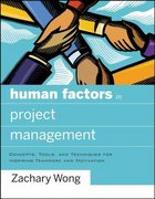 Human Factors in Project Management 1st edition 9780787996291 0787996297