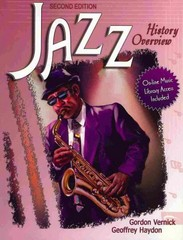 Jazz History Overview 2nd Edition 9780757538643 0757538649