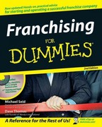 Franchising For Dummies 2nd edition 9780470045817 0470045817