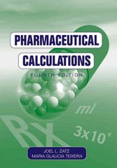 Pharmaceutical Calculations 4th edition 9780471433538 0471433535