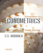 Introduction to Econometrics 3rd edition 9780471497288 0471497282