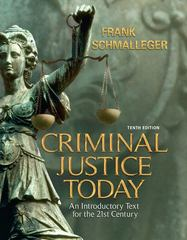Criminal Justice Today 10th edition 9780135130308 0135130301