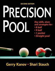 Precision Pool 2nd edition 9780736073875 0736073876