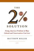 The Two Percent Solution 1st edition 9781586481582 1586481584