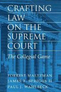 Crafting Law on the Supreme Court 1st edition 9780521783941 0521783941