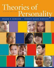 Theories of Personality 9th Edition 9781111804848 1111804842