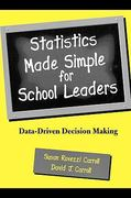 Statistics Made Simple for School Leaders 1st Edition 9781461654193 146165419X