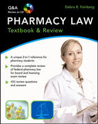 Pharmacy Law: Textbook & Review 1st edition 9780071486354 0071486356
