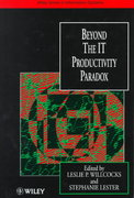 Beyond the IT Productivity Paradox 1st edition 9780471986928 0471986925