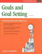 Crisp: Goals and Goal Setting, Third Edition 3rd edition 9781560526773 1560526777