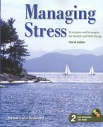 Managing Stress 4th edition 9780763745745 076374574X