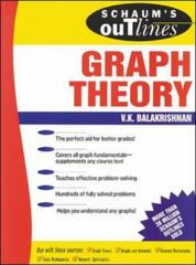 Schaum's Outline of Graph Theory: Including Hundreds of Solved Problems 1st edition 9780070054899 0070054894