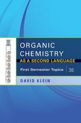 Organic Chemistry As a Second Language 3rd Edition 9781118010402 111801040X