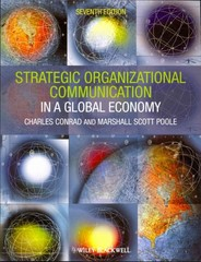 Strategic Organizational Communication 7th edition 9781444338638 1444338633
