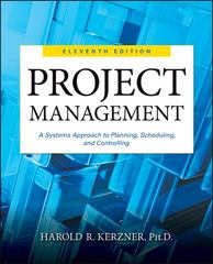 Project Management 11th Edition 9781118022276 1118022270