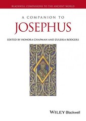 A Companion to Josephus 1st Edition 9781444335330 1444335332