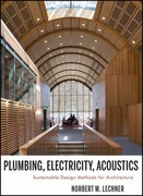 Plumbing, Electricity, Acoustics 1st Edition 9781118014752 1118014758