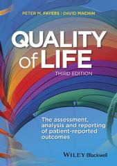 Quality of Life 3rd Edition 9781118759011 111875901X