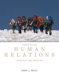 Human Relations 7th Edition 9781133715405 1133715400