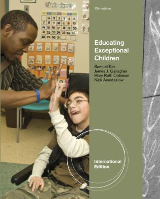 Educating Exceptional Children 13th edition 9781111185718 1111185719