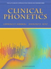 Clinical Phonetics 4th Edition 9780137021062 0137021062