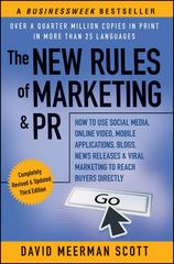 The New Rules of Marketing & PR 3rd Edition 9781118026984 1118026985