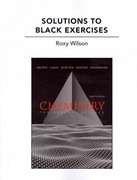 Solutions to Black Exercises for Chemistry 12th edition 9780321705013 0321705017