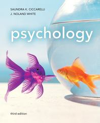 Psychology 3rd edition 9780205832576 0205832571