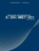 Using Excel for Principles of Econometrics 4th edition 9781118032107 1118032101