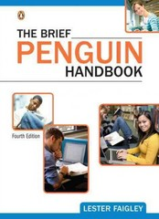 The Brief Penguin Handbook 4th edition 9780205030071 0205030076