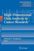 High-Dimensional Data Analysis in Cancer Research 0 9781441924148 1441924140