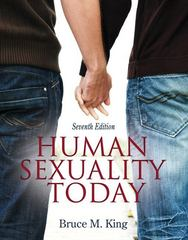 Human Sexuality Today 7th edition 9780205015672 0205015670