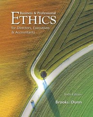 Business & Professional Ethics 6th edition 9780538478380 0538478381