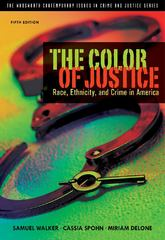 The Color of Justice 5th Edition 9781111346928 1111346925