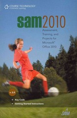 SAM 2010 Assessment, Training, and Projects v2.0 Printed Access Card 1st Edition 9781111667375 1111667373