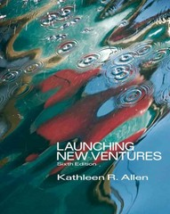 Launching New Ventures 6th edition 9781133715580 1133715583
